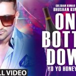 Yo Yo Honey Singh – One Bottle Down