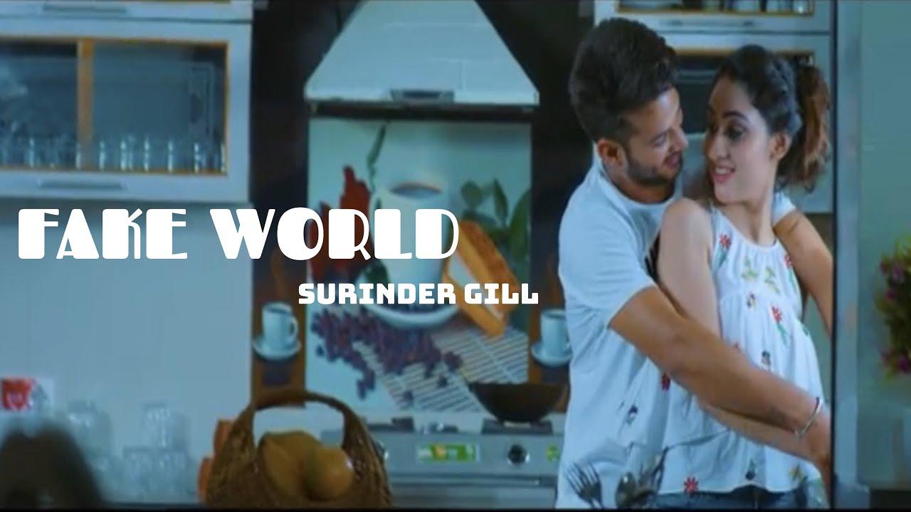 Surinder Gill ft Xtatic Muzic – Fake World