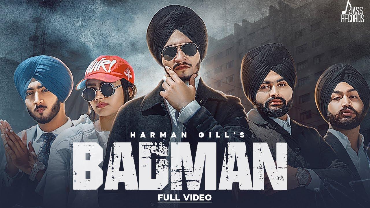 Harman Gill ft Randy J – Badman