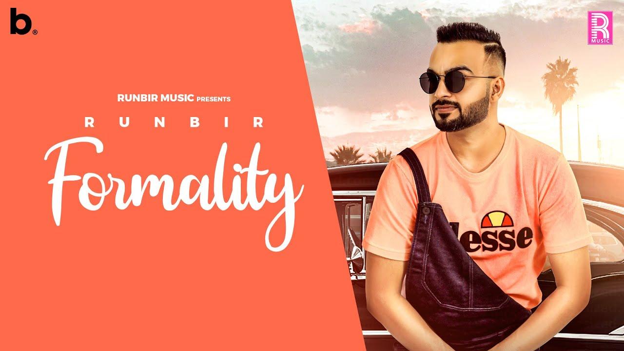 Runbir ft Preet Romana – Formality
