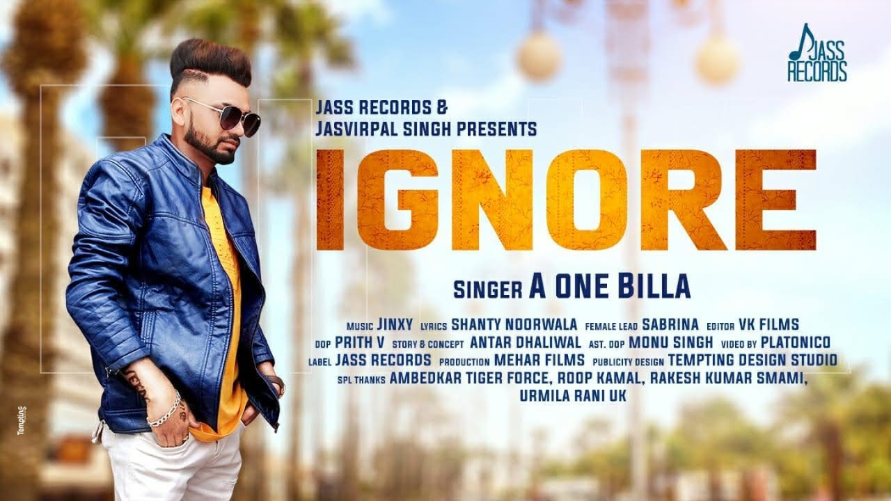 A One Billa ft Jinxy – Ignore