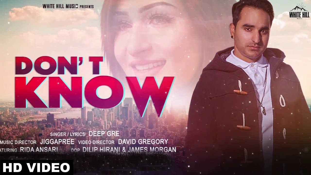 Deep Gre feat Rida Ansari & Jiggapree – Don't Know