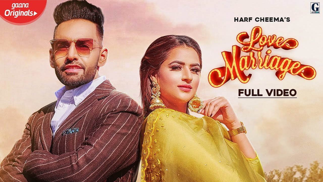 Harf Cheema ft Gurlej Akhtar & Ikwinder Singh – Love Marriage