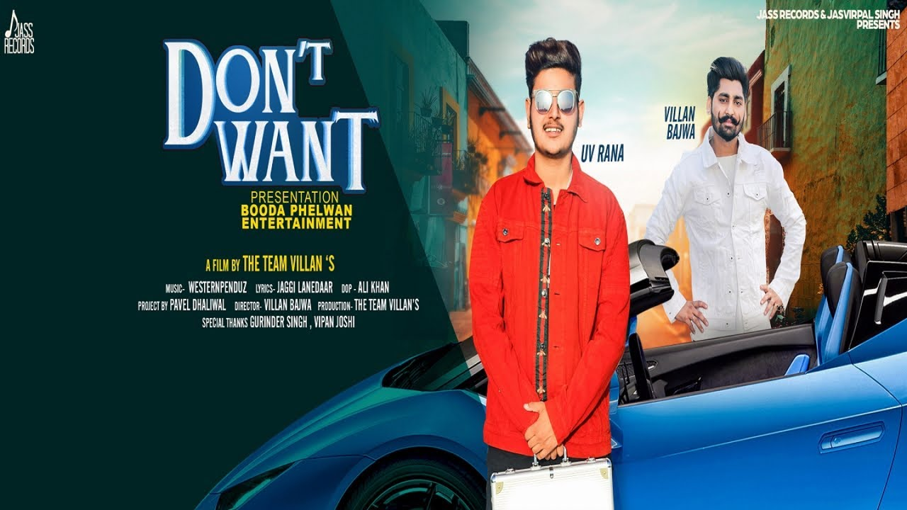 UV Rana ft Western Penduz – Don't Want