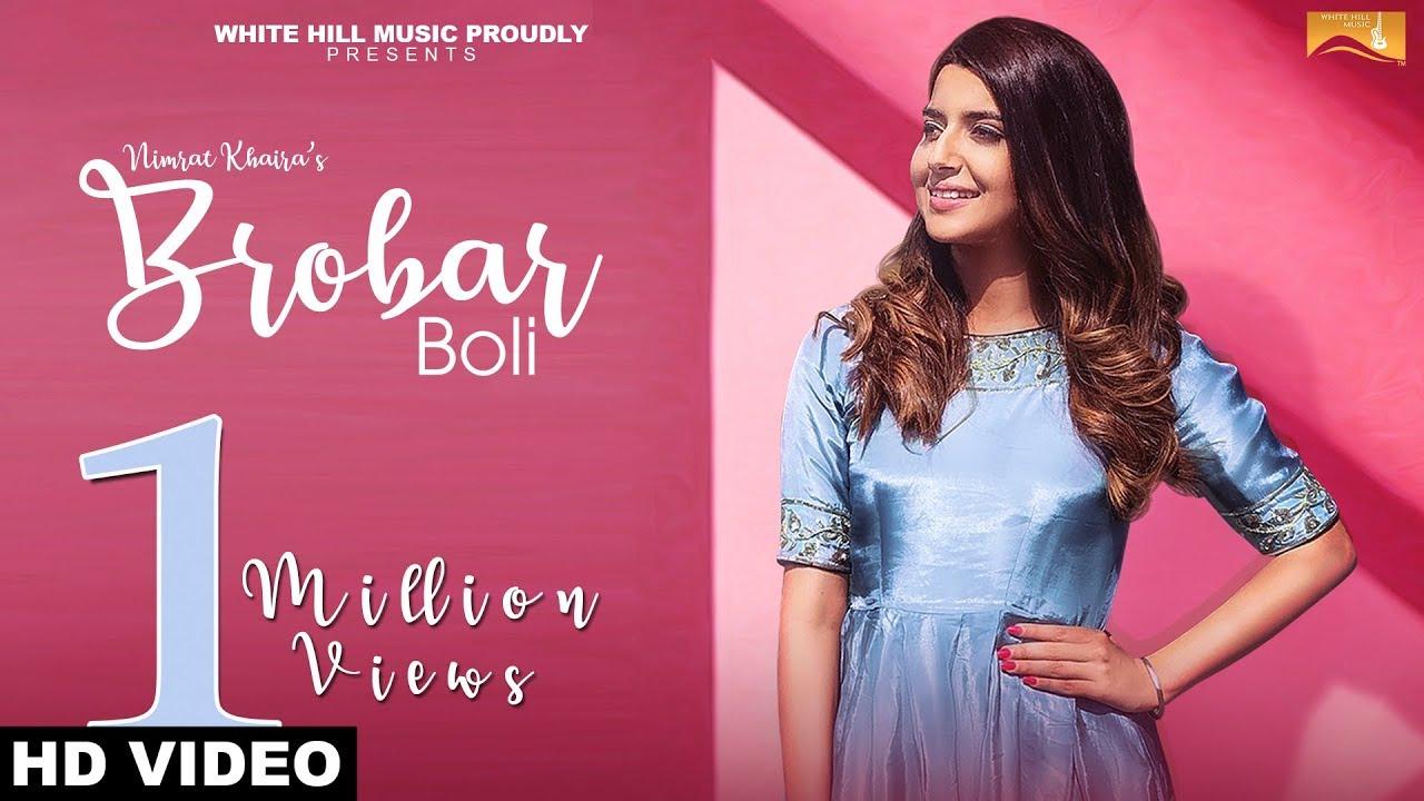 Nimrat Khaira ft Desi Routz – Brobar Boli