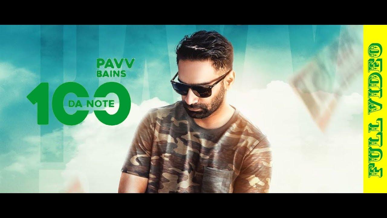 Pavv Bains ft Prabh Near – 100 Da Note