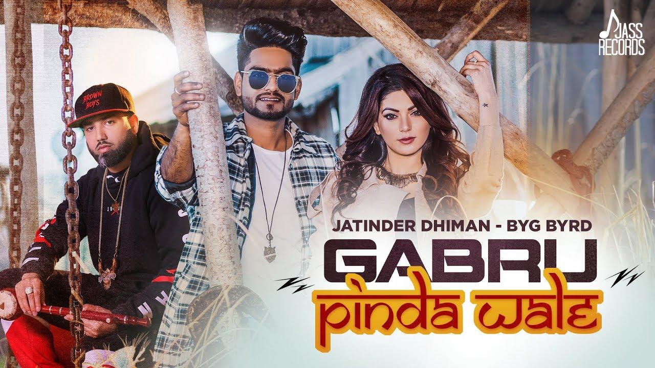 Jatinder Dhiman ft Byg Byrd – Gabru Pinda Wale