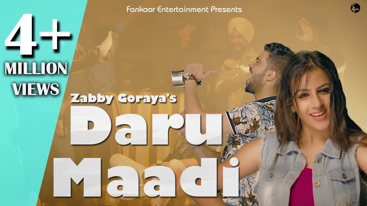 Zabby Goraya – Daru Maadi