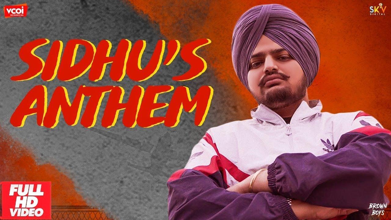 Sidhu Moose Wala ft Sunny Malton & Byg Byrd – Sidhu's Anthem