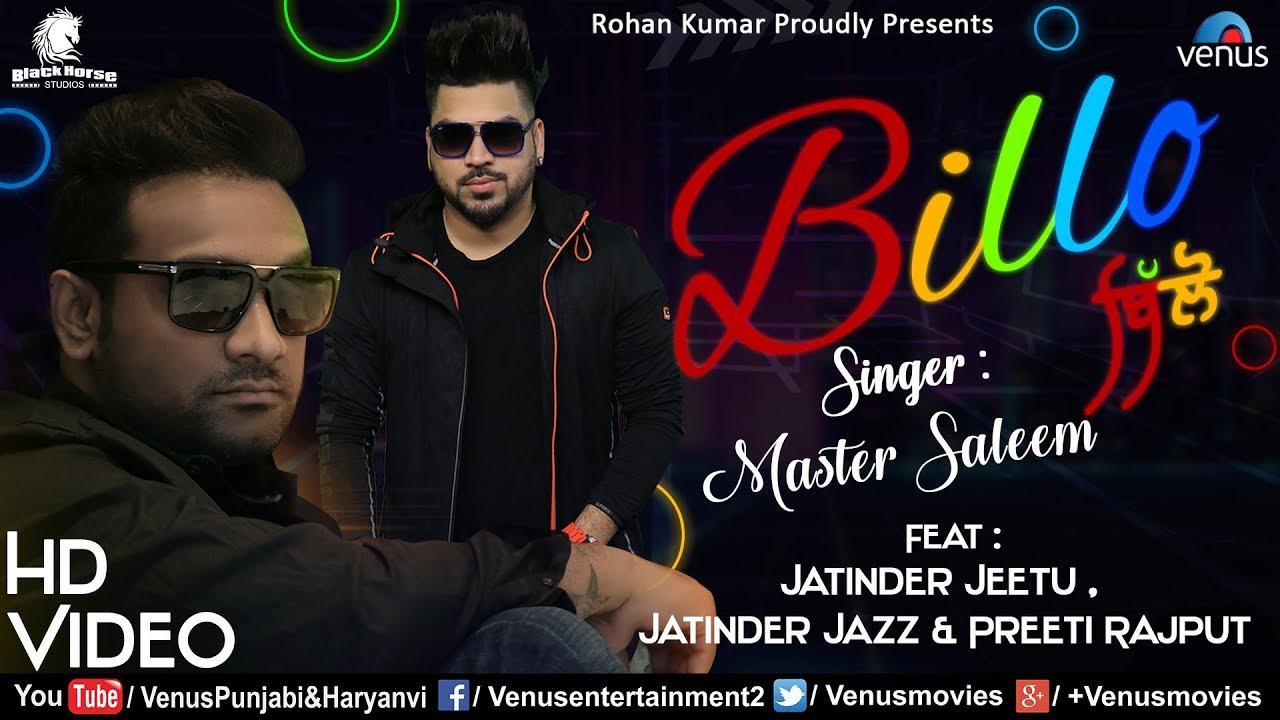 Master Saleem ft Jatinder Jeetu – Billo