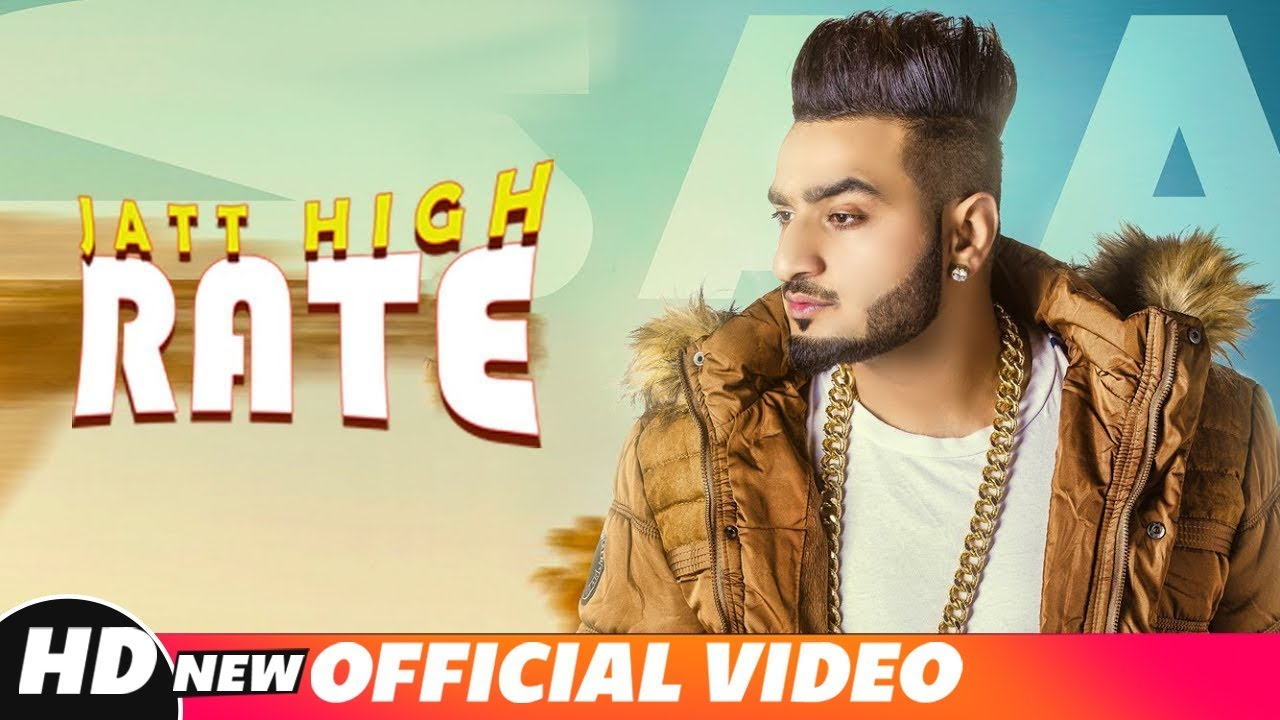 Saaj ft Game Changerz – Jatt High Rate