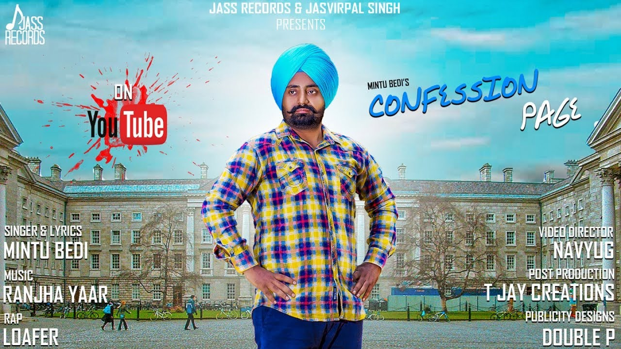 Mintu Bedi ft Loafer – Confession Page