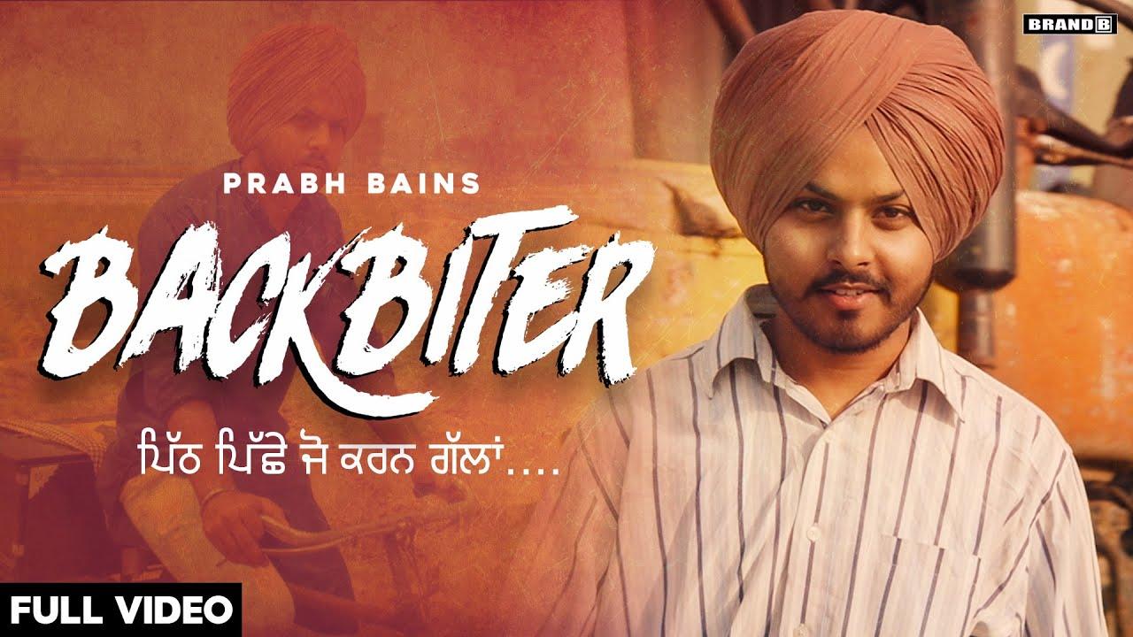 Prabh Bains – Backbiter